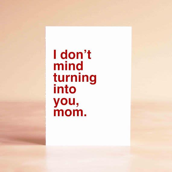 Sad Shop Sad Shop Greeting Card