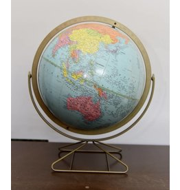 VINTAGE 1960's WORLD GLOBE WITH USSR