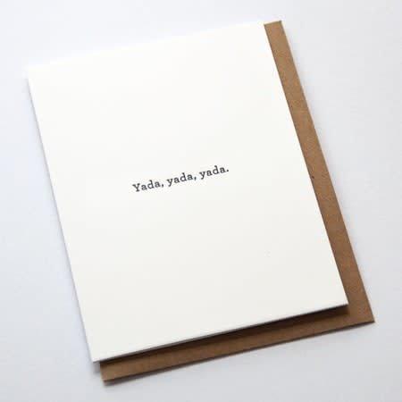 Huckleberry Letterpress Cards