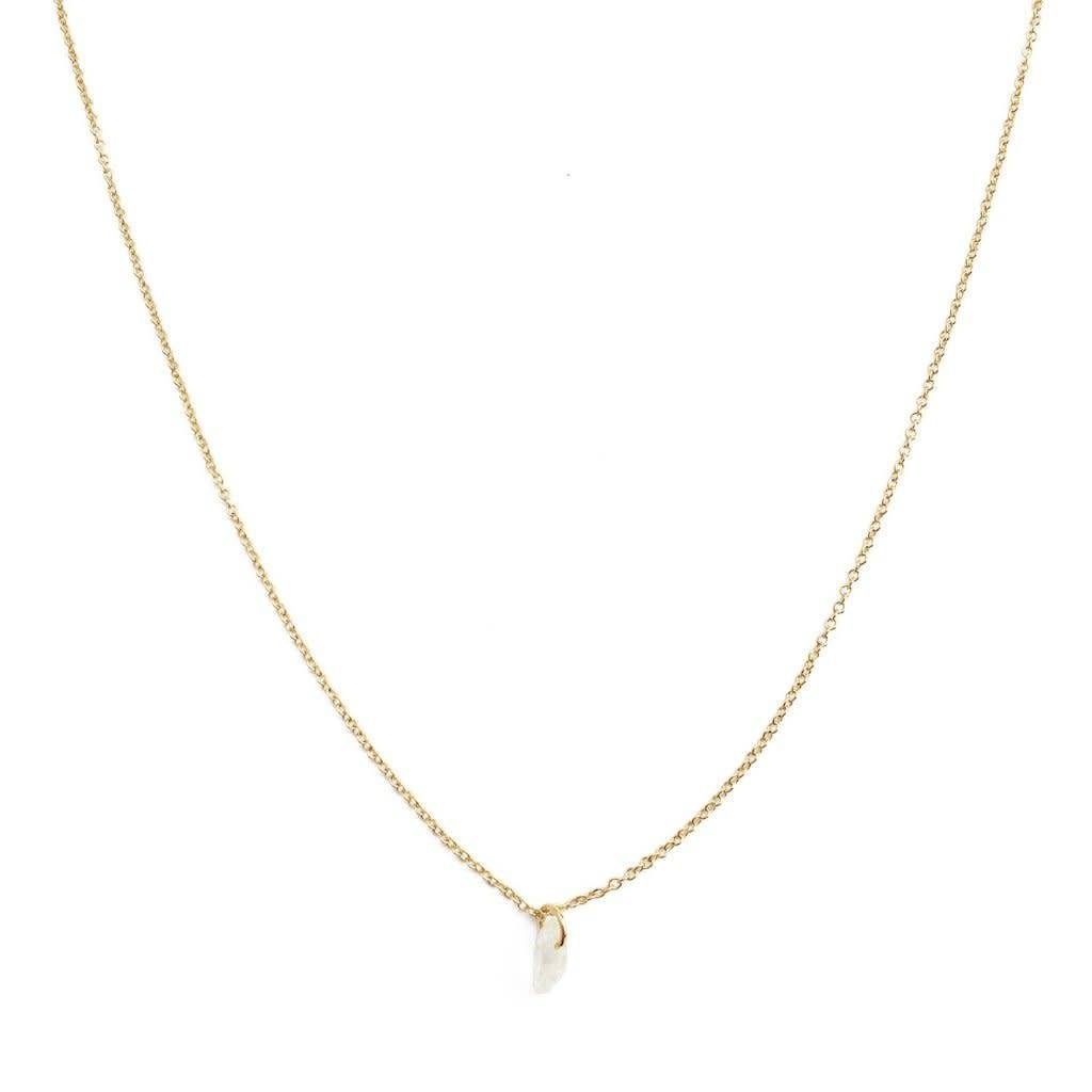Honeycat Honeycat Wishing Crystal Necklace