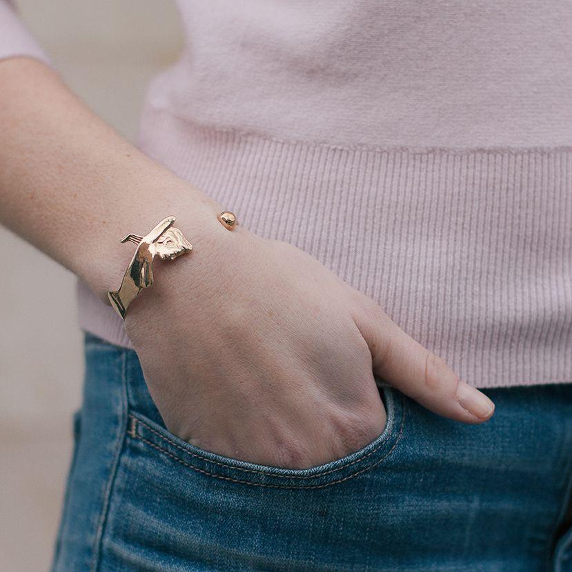 Camille Jewelry Camille Jewelry Brass Woman Bracelet