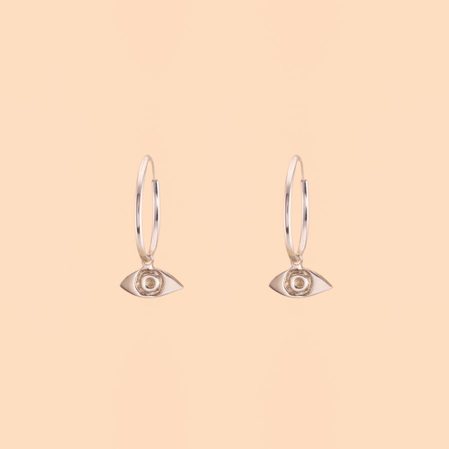 Camille Jewelry Camille Jewelry Gold Fill Brass Eye Earrings