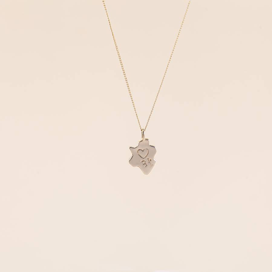 Camille Jewelry Camille Jewelry Brooklyn Brass Pendant Necklace