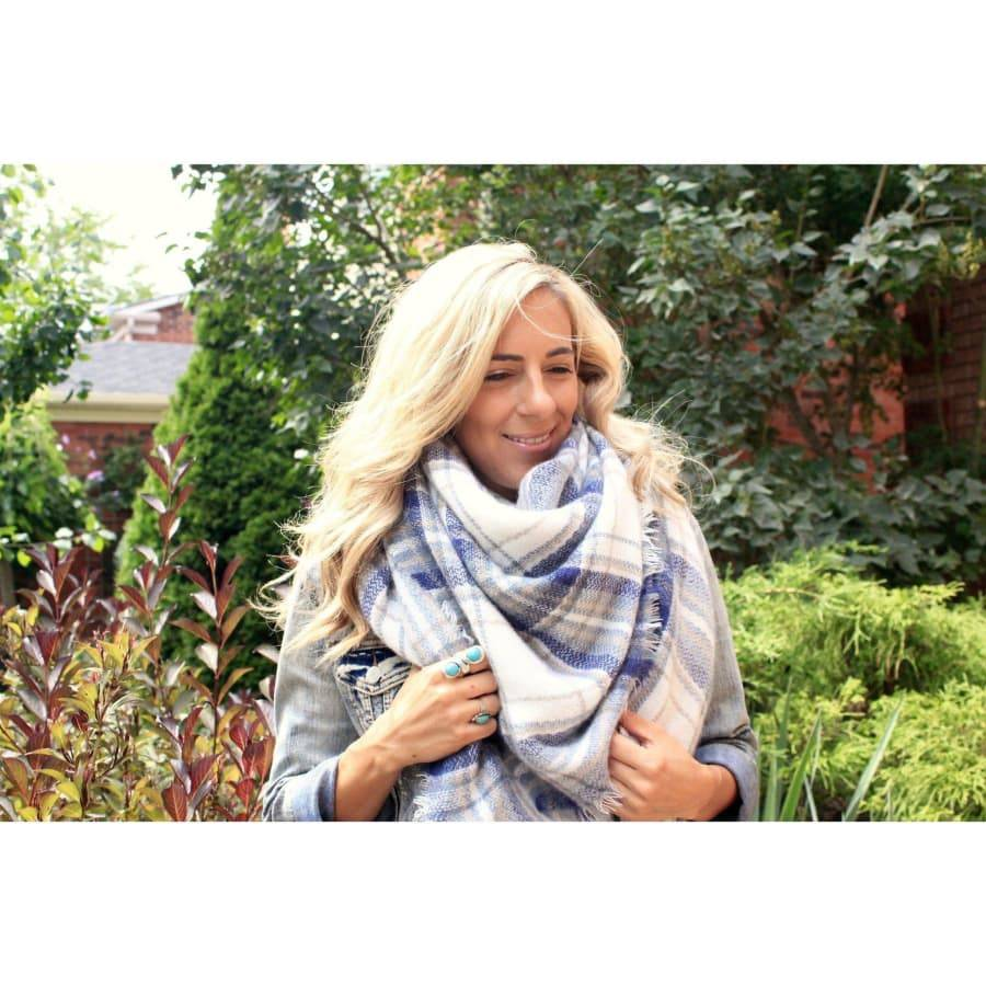 Beautifull Boundaries Beautifull Boundaries Blanket Scarf