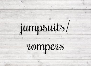 Jumpsuits/Rompers