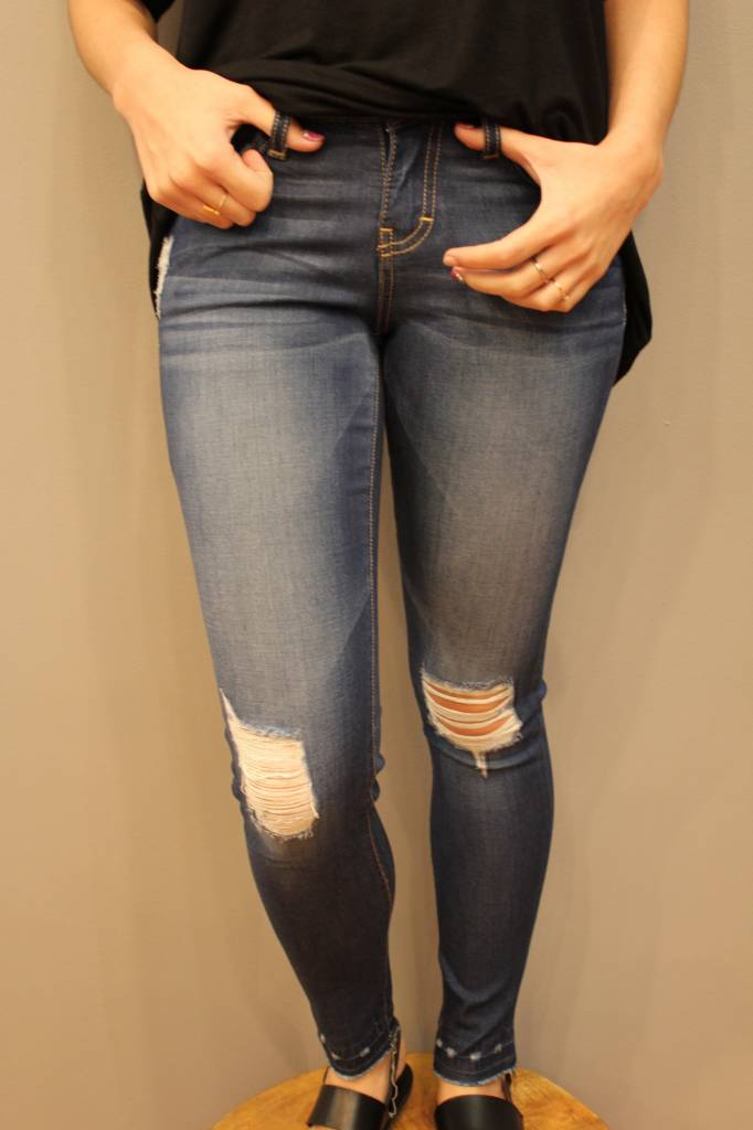 L8505 DISTRESSED JEGGING