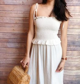 Ribbed Cotton Jumpsuit