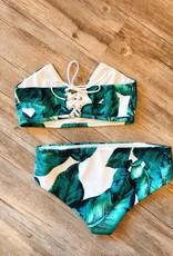 Tropical Leaf Bikini Set