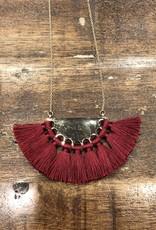 Wide Fridge Long Necklace