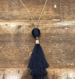 Single Tassel Long Necklace