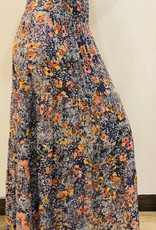 Floral Maxi with Smocked Waist