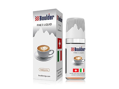 BOULDER DISCOUNT Cappucino 0mg 10ml