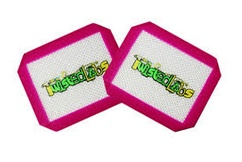 "Twisted Labs 3.5"" x 4.5"" Silicone Mat 2 Pack Pink"