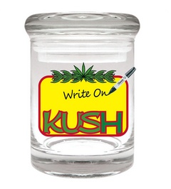 Stash Jar 90ml Kush Writeable