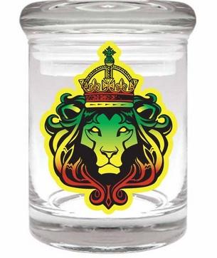 Stash Jar 90ml Rasta Lion