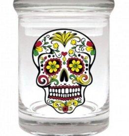 Stash Jar 90ml Skull