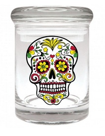 Stash Jar 90ml Skull