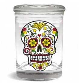 Stash Jar 170ml Skull