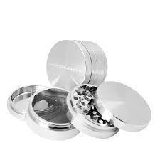 "CALI CRUSHER 2"" Hard Top 4pc Silver"