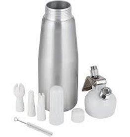 1 Pint Aluminum Dispenser Silver