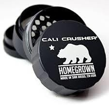 CALI CRUSHER Homegrown Hard Top 4pc Black