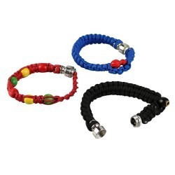 Macrame Beaded Bracelet Pipe