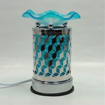 Blue Metal Oil Lamp