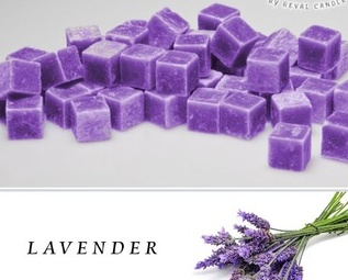 Lavender Fragrance Wax Cubes