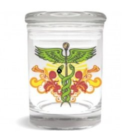 Stash Jar 600ml Caduceus