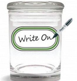 Stash Jar 170ml Strain Writeable