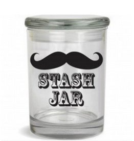Stash Jar 170ml Mustache