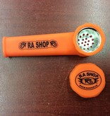 RA SHOP Silicone Hand Pipe Orange