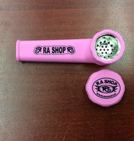 RA SHOP Silicone Hand Pipe Pink