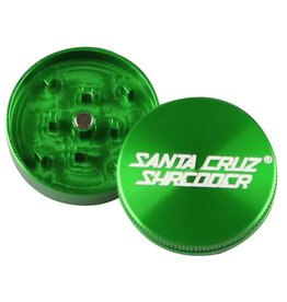 "SANTA CRUZ Grinder LG 2pc 2 3/4"" Green"
