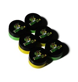 Twisted Labs Silicon Jar 6pk Green & Yellow