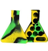 Twisted Labs Silicone Beaker Blk Yel Green