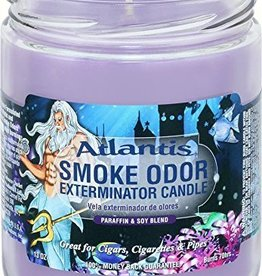 SMOKE ODOR Candle Atlantis