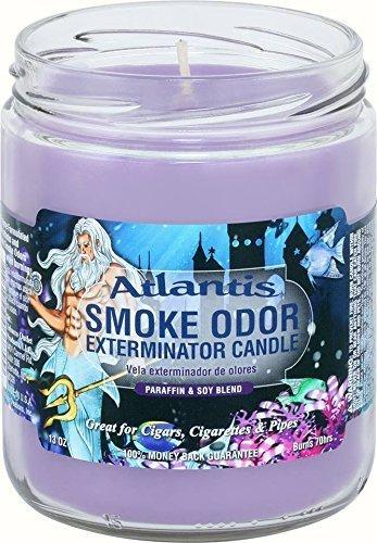 SMOKE ODOR Candle Atlantis