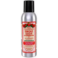 SMOKE ODOR Spray Fresh Strawberries
