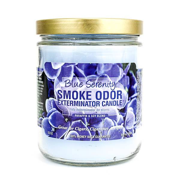 SMOKE ODOR Candle Blue Serenity