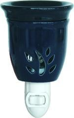 Ceramic Plugin Night Light Oil Warmer Blue