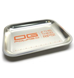 OG Four Orange XXL Rolling Tray