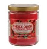 SMOKE ODOR Candle Fresh Strawberries