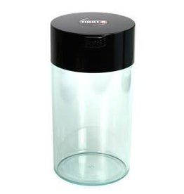 Tightvac 1.3 liter Black Cap/Clear Body