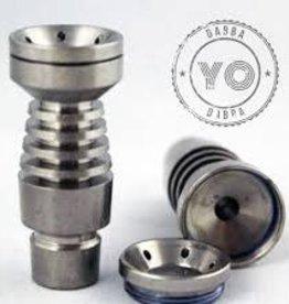 YDD Titanium SS Domeless Male 14/19mm