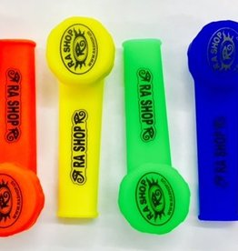 RA SHOP Silicone Hand Pipe Green