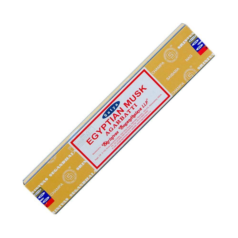 Satya Incense 15g Egyptian Musk