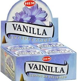 Hem 10pc Vanilla Incense Cones
