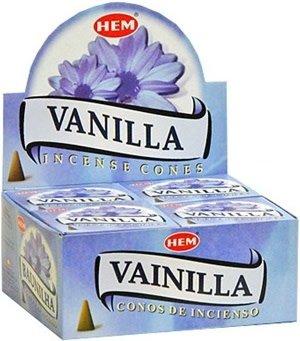 Hem 10pc Vanilla Incense Cones