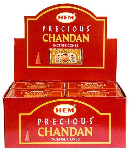 Hem 10pc Precious Chandan Incense Cones